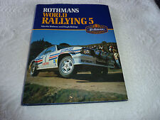 World Rallying Annual No. 5 Rothmans 1982 Season by Holmes & Bishop 1983