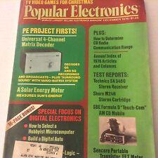 Popular Electronics Magazine Universal Matrix Decoder December 1976 071917nonrh