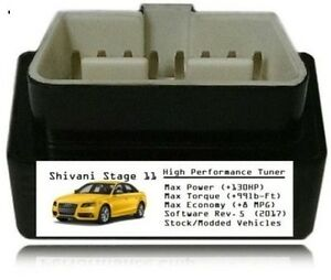 Stage 11 Performance Power Tuner Chip [ Add 130 HP 8MPG ] OBD Tuning for Jeep