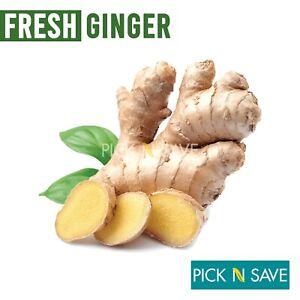 Fresh ORGANIC Ginger Roots 500g - Trusted UK Seller