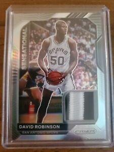 2020-21 Prizm Basketball David Robinson Jersey Patch /10 Spurs!!!!