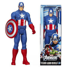 "Marvel Avengers Captain America 12"" Action Figures Figurine Titan Hero Kids Toys"