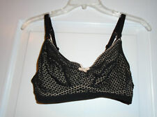 a769a9467a Nursing Bra Sz 36C Heidi Klum Intimates Black Lace Wire Free