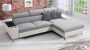 Brand New Corner Sofa Bed With Storage  Modivo I Maxi