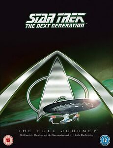 Star Trek: The Next Generation Complete Series Blu Ray Box Set RB New