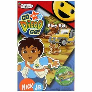 Go Diego Go Colorforms Playset University Games Nick JR Sealed NEW