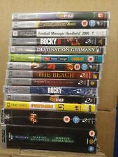 NEW AND SEALED 15 PSP UMD FILMS MOVIES JOBLOT BUNDLE !! WITH FREE GAME !!
