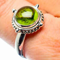 Peridot 925 Sterling Silver Ring Size 9.5 Ana Co Jewelry R26347F