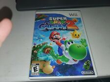 Super Mario Galaxy 2 🎮 Nintendo Wii 🌟 Great Game & Condition CIB Complete