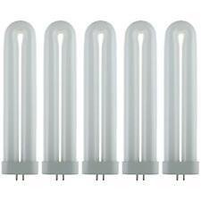 5 Pack Sunlite 13W Cool White U Shaped FUL Twin Tube Plugin Lamps 216QA Base