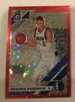 2019-20 Donruss Optic Fast Break Red Prizm Refractor Kristaps Porzingis 84/85