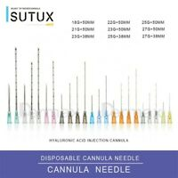 New Blunt Tip Micro Cannula dermal filler 23g, 25g, 27g
