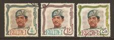 BRUNEI 1968 SG154/156 Birthday of Sultan Set - Good Used (JB9734)