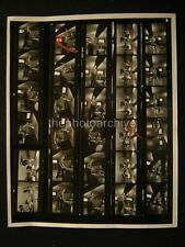 Candid Fred Astaire VINTAGE TV CONTACT SHEET w/Credit 558A