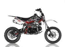 PitBike 125cc 4 TEMPI a MARCE CVM Speedy Rosso minicross minimoto enduro