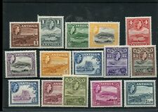 ANTIGUA #107 - #121 * / ** MH & MNH, Cat $69+ mint stamps