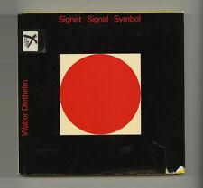 1970 Walter Diethelm SIGNET SYMBOL Swiss TRADEMARK Graphic Design ABC Verlag HcD