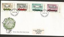 GREAT BRITAIN - 1982 Cars - F.D.C..