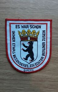 Fanaufnäher - 1.FC UNION BERLIN / HERTHA BSC / 80 Jahre / Skin, Hools, Kutten