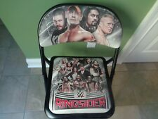 WWE Ringside Chair Ringsider Experience SMACKDOWN LIVE Folding Chair
