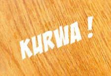 KURWA Aufkleber Sticker Sprüche JP FUN Prior Auto Performance Design Spaß Decal