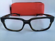 ce1373f971 New ALAIN MIKLI A 26030 C140 53mm Havana Gray Men s Eyeglasses Frame Italy