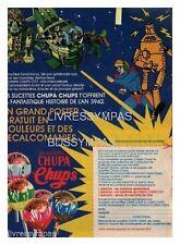 1979 DOCUMENT  (ref Cim  AL084) PUB  :  SUCETTE CHUPA CHUPS FUTUR AN 3942  1page