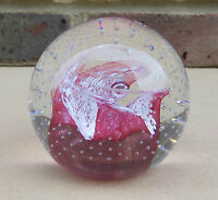 CAITHNESS Glass Paperweight - Cauldron