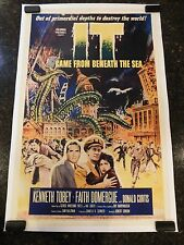 IT CAME FROM BENEATH THE SEA Original 1955 Movie Poster,C8.5 Very Fine/Near Mint