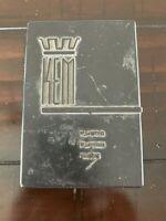 KEM Plastic Playing Cards Vintage Empty Case Box