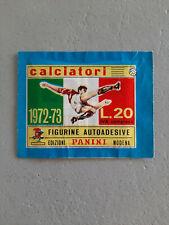 BUSTINA   CALCIATORI PANINI 1972/73  PIENA SIGILLATA PERFETTA   !!