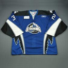 2009-10 Rejean Beauchemin Idaho Steelheads Game Used Worn ECHL Hockey Jersey!