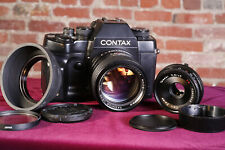 Contax RX  w/ Yashica Tomioka  55mm f/1.2 & Zeiss Tessar T* 45mm f/2.8  lenses