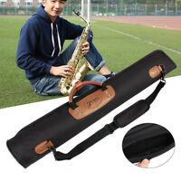 New Oxford Cloth Clarinet Oboe Straight Soprano Saxophone Sax Gig Bag Case Black