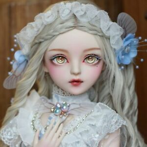 BJD 1/3 Ball Jointed Doll Gift Full Set Handpainted Makeup Princess + Clothes
