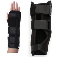 Negro soporte de munequera ferula para evitar esguince artritis dolor de tu M8D1