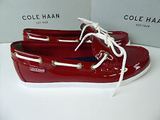 bfb5f460b8b Cole Haan Nantucket Camp MOC Size Womens 9 Navy Blue Patent Lether