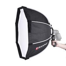 65Cm 8-Pole Octagon Umbrella Softbox For Speedlight Camera Flash Hand Grip F6M4