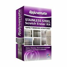 Rejuvenate Stainless Steel Scratch Eraser Kit Safely Removes Scratches Gouges...