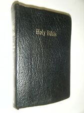 Self-Pronouncing King James Version Bible Genuine Leather Edition Illustrated