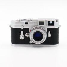Leica M3 (1957) mit Elmar 50mm 1:2,8 - Doppelaufzug - gebraucht