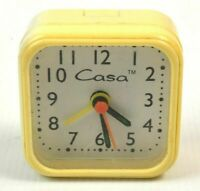 Casa Portable Clock 6cm Pop Up Bedside Table Travel Desk VINTAGE Retro Antique