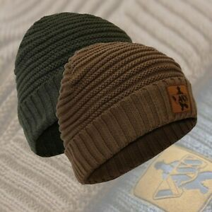Vass 'Fleece Lined' Ribbed Beanie Hat ( VR376 )