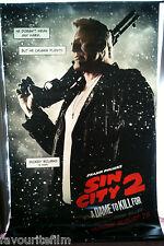 Cinema Banner: SIN CITY A DAME TO KILL FOR 2014 (Mickey Rourke/Marv) Eva Green