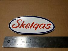 Vintage Reproduction Trailer SKELGAS PROPANE TANK Decal Sticker