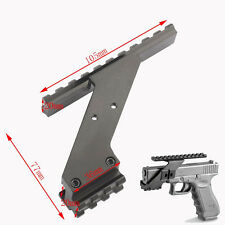 Universal Pistol Hand Gun Scope Mount Weaver Base F Red Dot Laser Sight Hunting