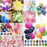 "12"" Colorful Heart Round Latex Balloon Celebration Party Wedding Birthday Decor"
