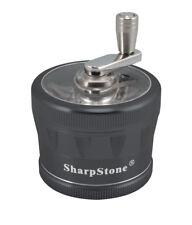 "2.5"" Sharpstone 2.0 4pc Crank Top Grinder - Black"