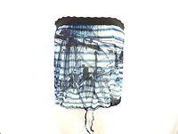 JEAN PAUL GAULTIER SOLEIL Bandeau Top Shirt - L 40 - blau weiß - neu m. Etikett