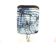 JEAN PAUL GAULTIER SOLEIL Bandeau Top Shirt - M 38 - blau weiß - neu m. Etikett